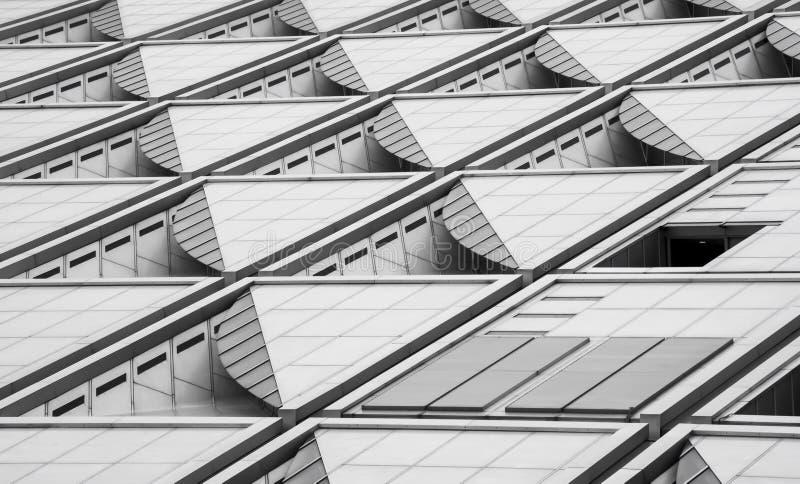 Самомоднейшая текстура здания стоковые изображения