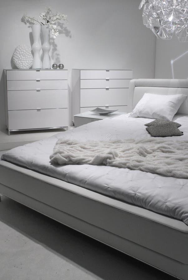 самомоднейшее конструкции спальни нутряное стоковое изображение
