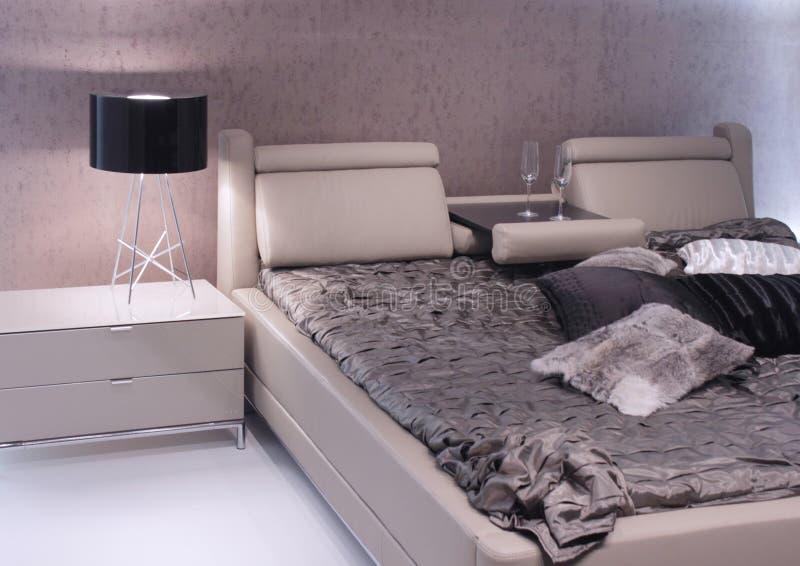 самомоднейшее конструкции спальни нутряное стоковое фото rf