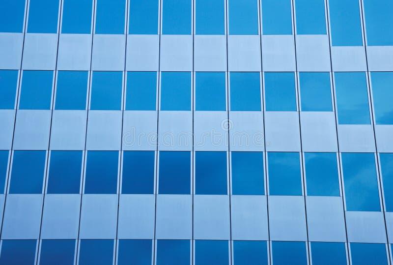 Самомоднейшее стеклянное здание стоковое фото
