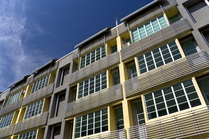Download самомоднейшие shophouses стоковое фото. изображение насчитывающей этаж - 6855068