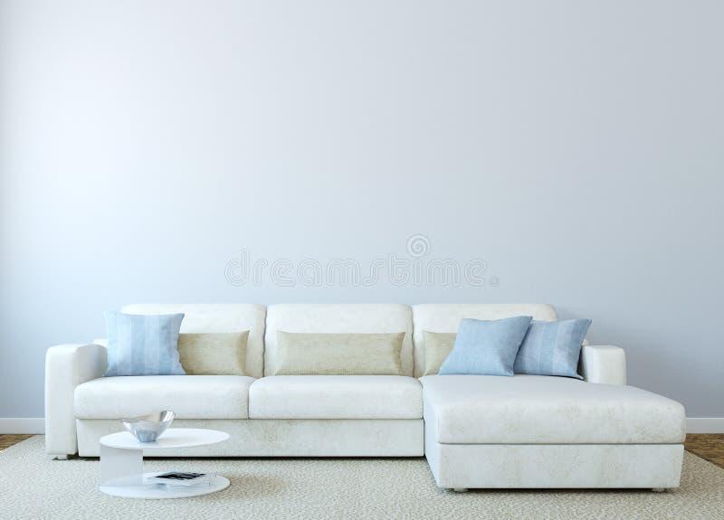 Самомоднейший жить-room иллюстрация штока