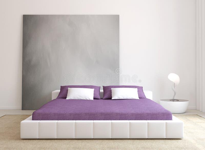 Самомоднейший интерьер спальни. бесплатная иллюстрация