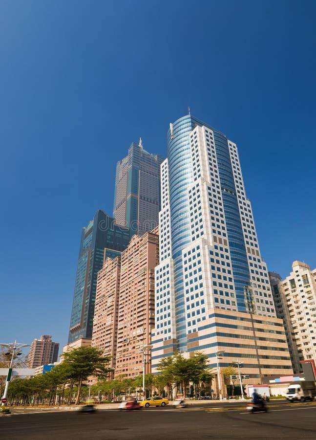 самомоднейший небоскреб стоковая фотография rf