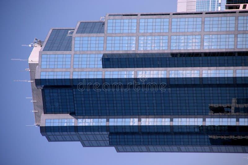 самомоднейший небоскреб стоковые изображения rf