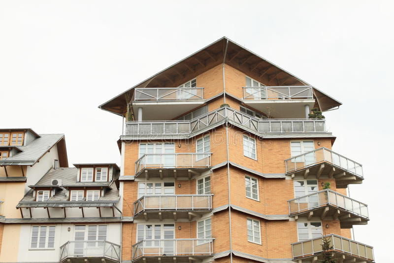 Самомоднейшая селитебная дом стоковое фото rf