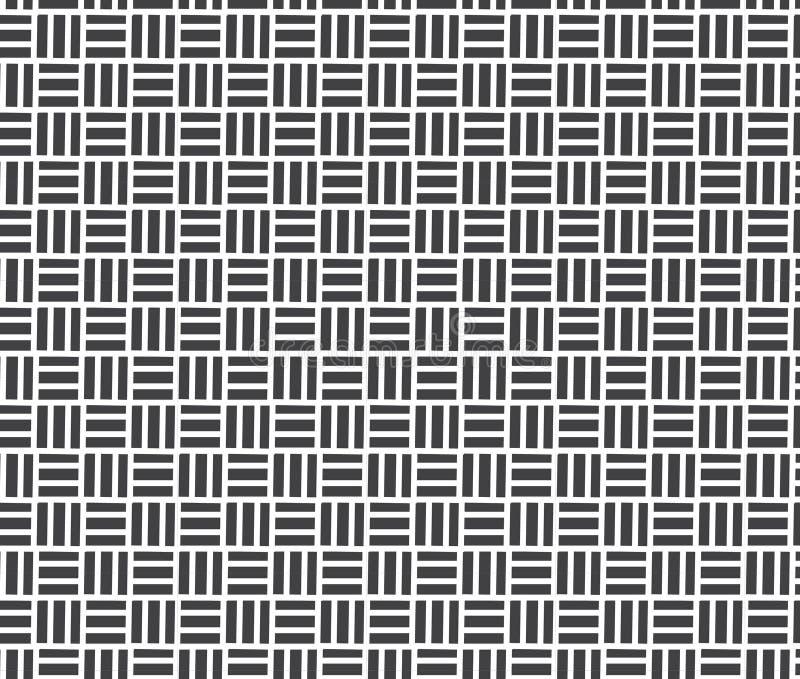 самомоднейшая стильная текстура Повторять геометрические плитки иллюстрация штока
