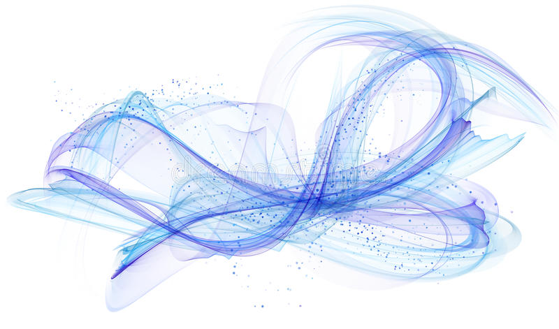 самомоднейшее абстрактной предпосылки голубое иллюстрация вектора