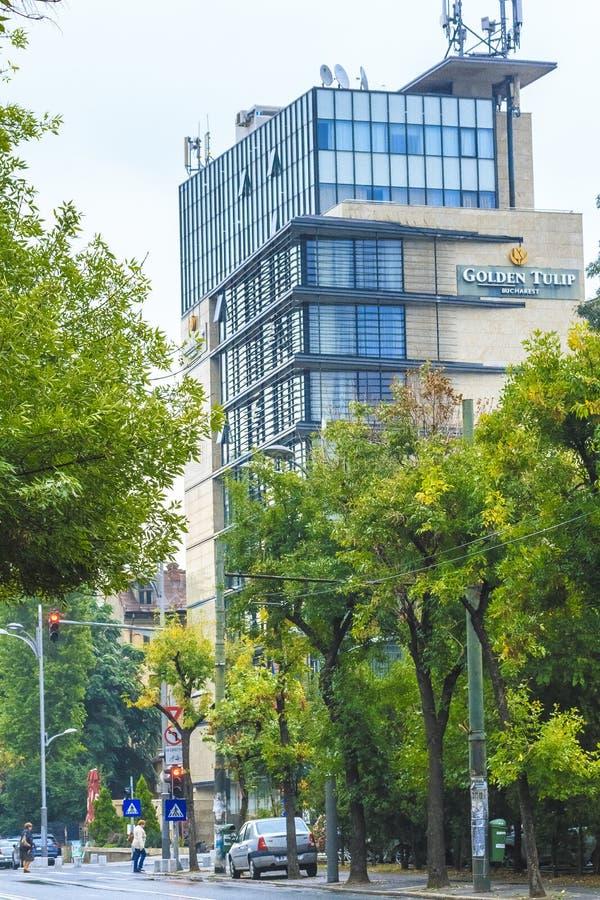 Самомоднейшее Бухарест стоковая фотография
