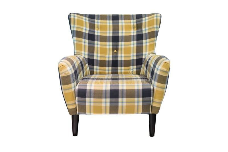 Самомоднейший изолированный стул стоковые фото