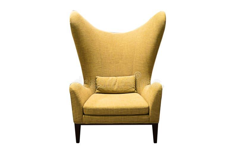 Самомоднейший изолированный стул стоковые изображения