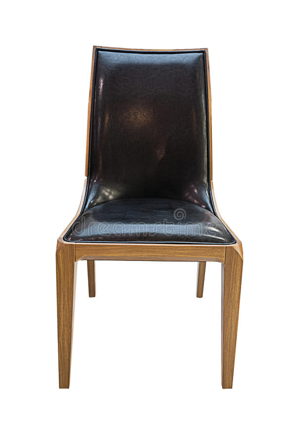 Самомоднейший изолированный стул стоковое изображение