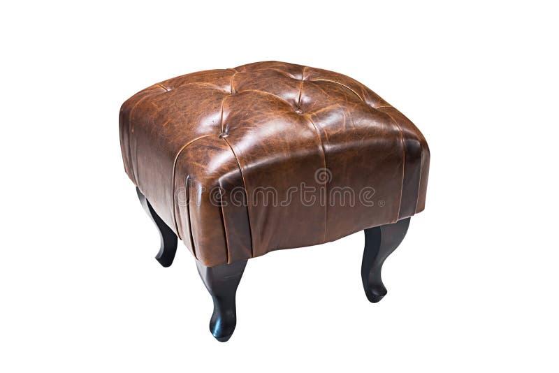 Самомоднейший изолированный стул стоковая фотография rf
