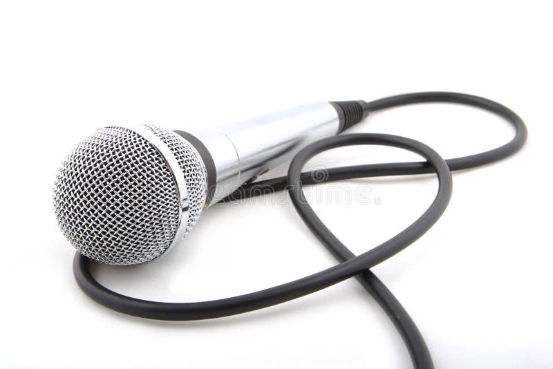 Самомоднейший микрофон стоковая фотография rf