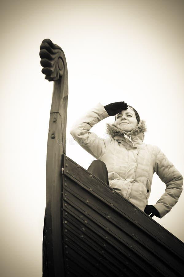 Самомоднейший viking стоковое изображение