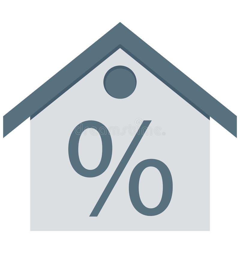 Самонаведите, значки вектора знака процента изолированные смогите быть доработайте с любым стилем иллюстрация штока