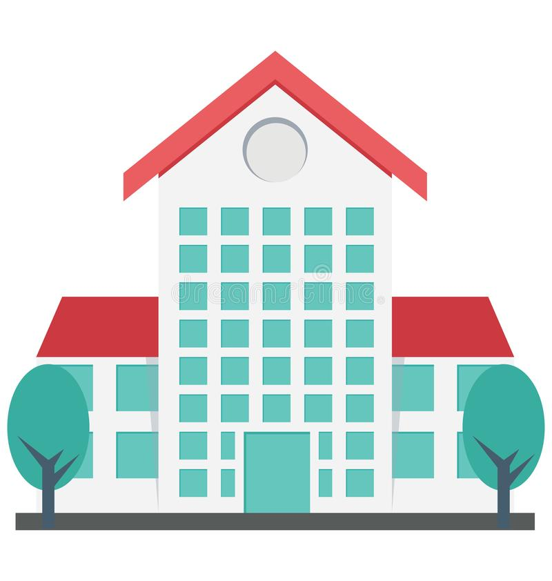 Самонаведите, изолированные квартирой значки вектора смогите быть доработайте с любым стилем иллюстрация вектора