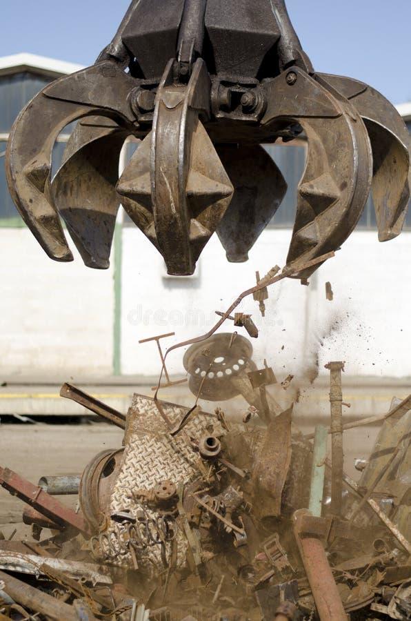 Самосхват корки для металлолома стоковое изображение rf