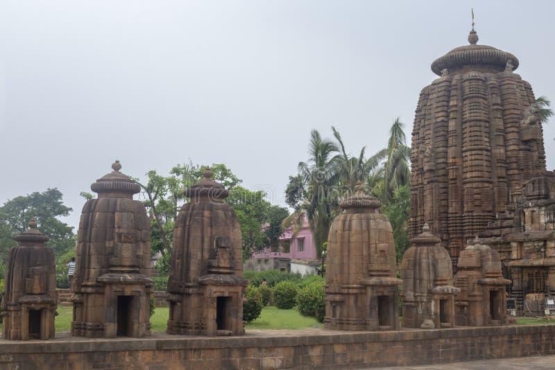 Самоцвет архитектуры Odisha, висок Mukteshvara, Bhubaneswar, Odisha, Индия стоковое изображение
