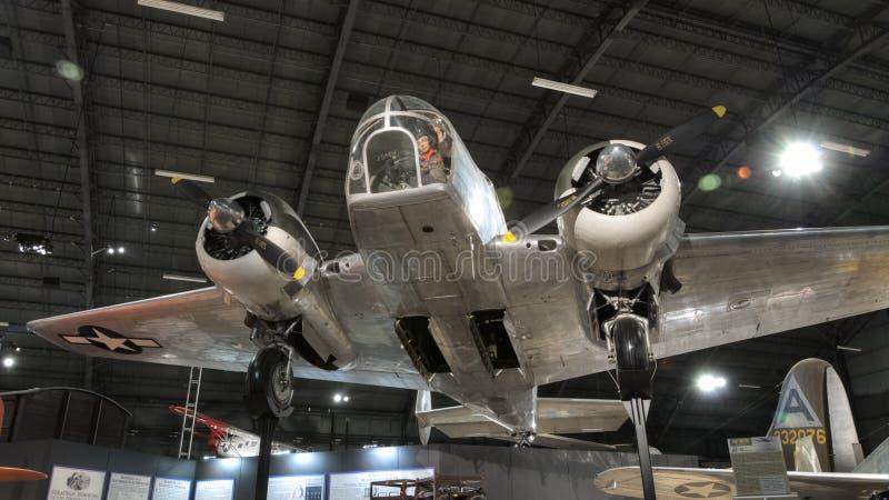 Самолеты на музее USAF, Dayton, Огайо стоковые изображения