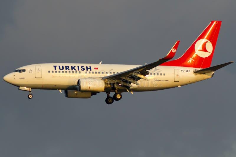 Самолет Боинга 737 стоковое фото