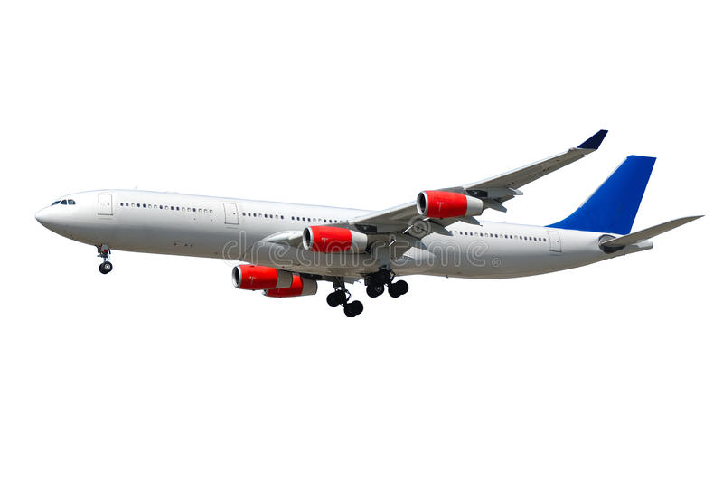 Самолет громоздк стоковое изображение rf