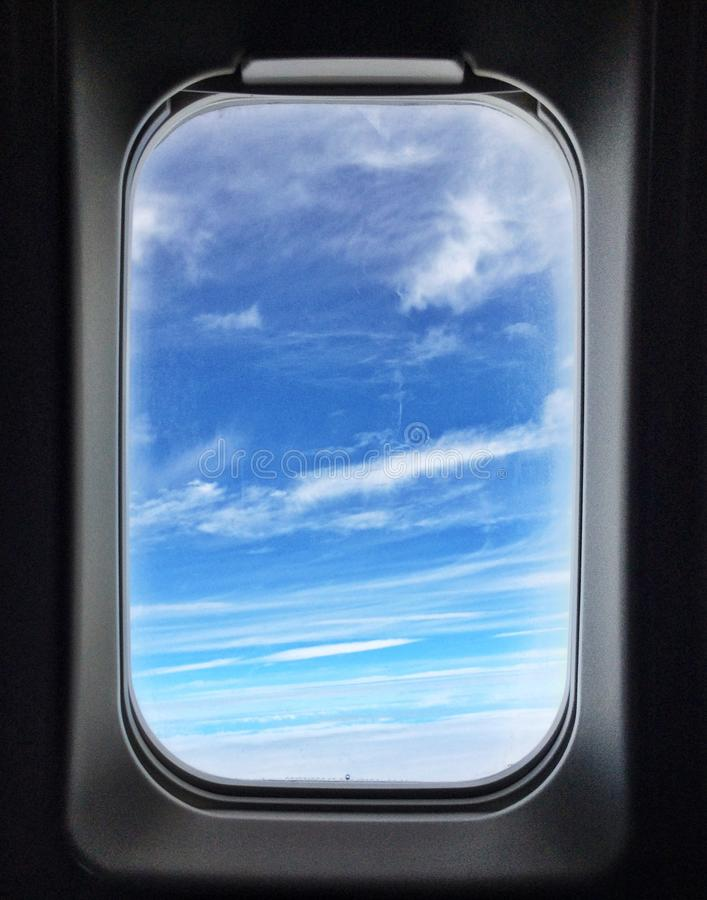 самолет, котор будут имеет извлекли изображением, котор окно взгляда стоковые изображения rf