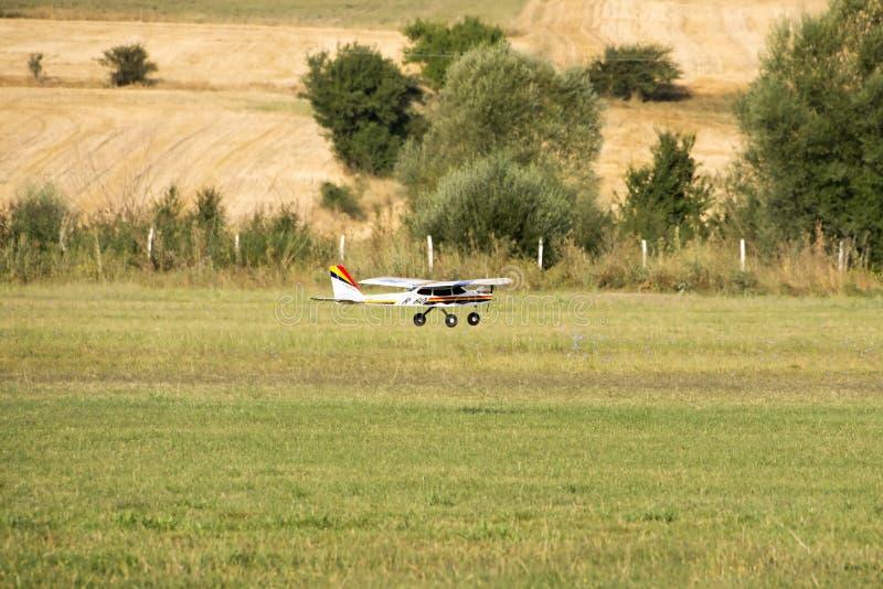 Самолет модели Rc стоковое изображение rf