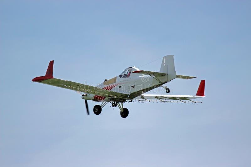 Самолет опылителя полей стоковое фото