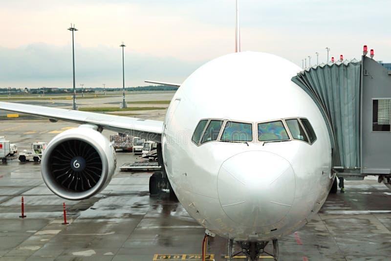 Самолет - путешествующ самолетом стоковое фото rf