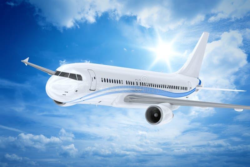 Самолет иллюстрация вектора