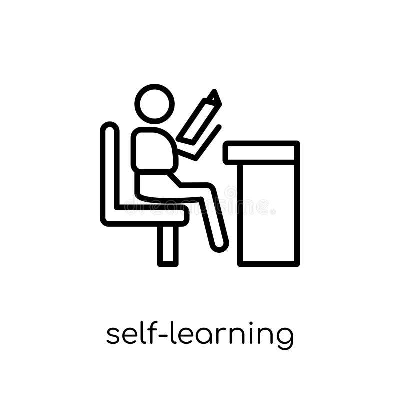 само-учить значок  бесплатная иллюстрация