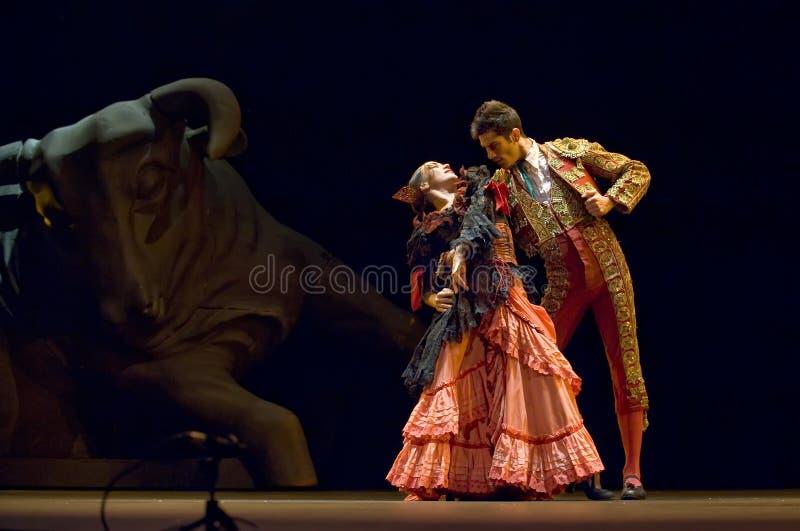 самые лучшие carmen танцуют flamenco драмы стоковые фотографии rf