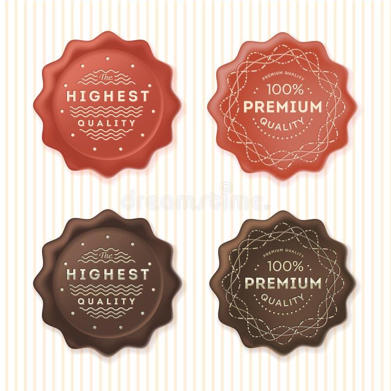 Самый высококачественный и ярлыки 100% наградные стоковые изображения