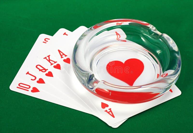 самый лучший покер руки стоковые изображения rf