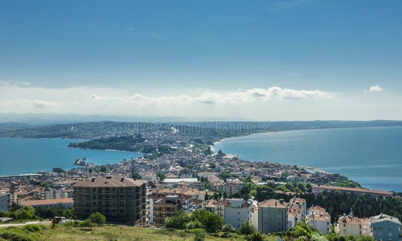 Самый северный город Турции; Sinop стоковые изображения rf