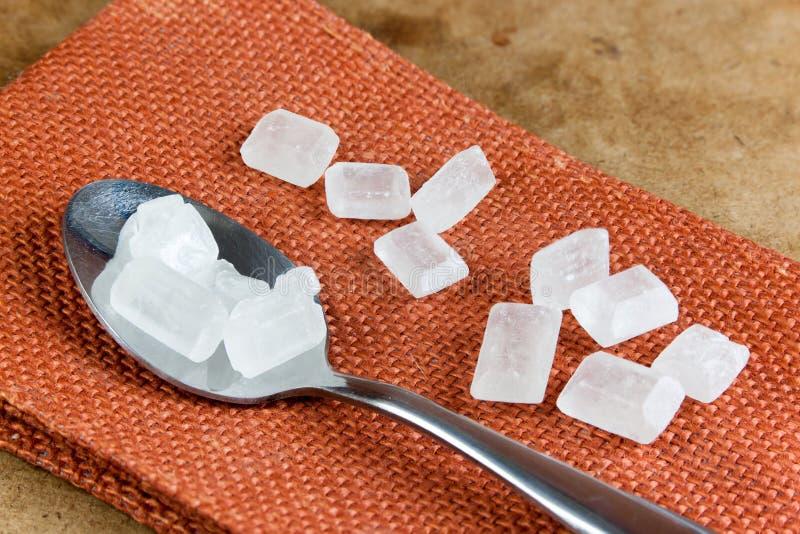 Самый лучший качественный естественный сахар утеса стоковые изображения rf