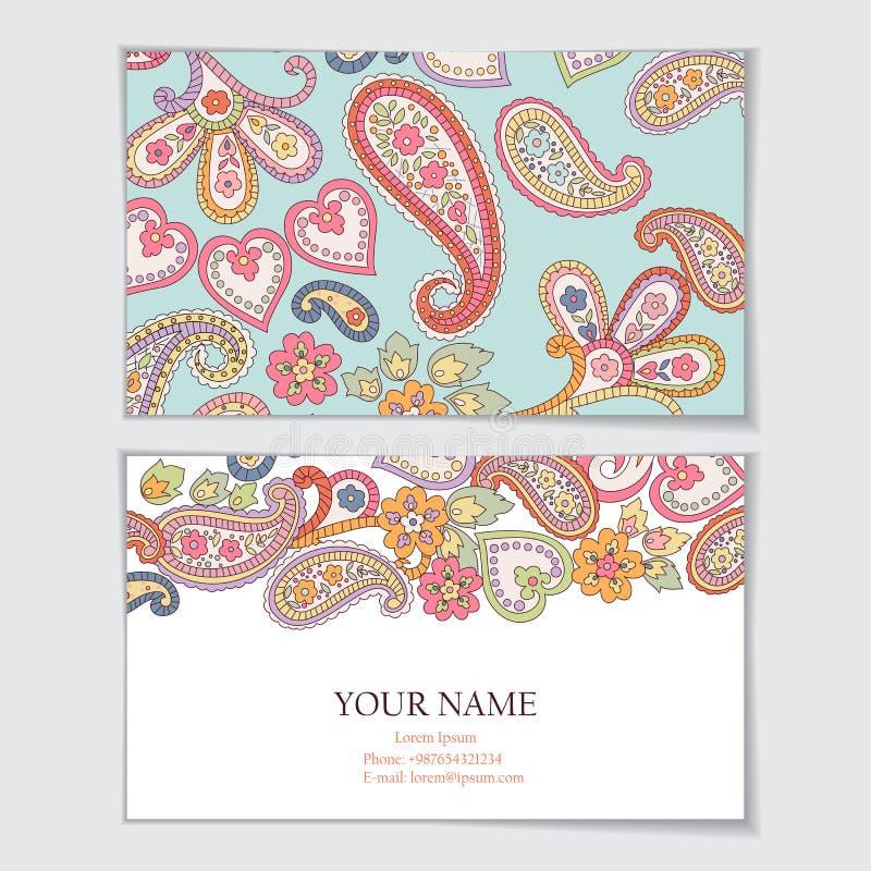 самый лучший оригинал визитной карточки печатает готовый вектор шаблона иллюстрация штока
