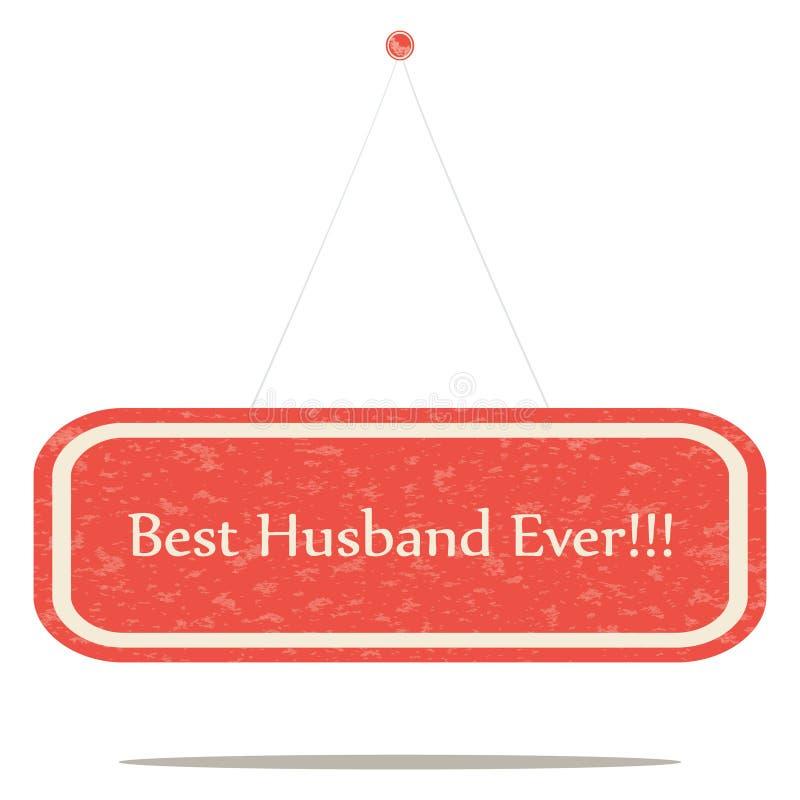 Самый лучший супруг всегда бесплатная иллюстрация