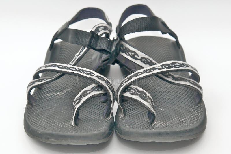 сандалии реки стоковое фото rf