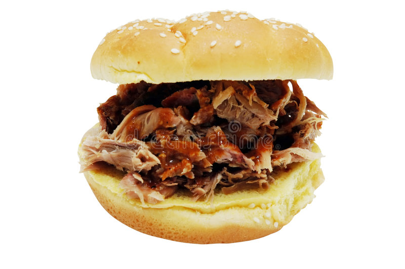 сандвич барбекю стоковые фото