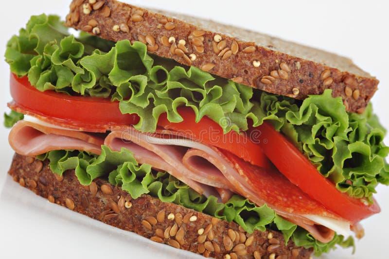 сандвич гастронома стоковое изображение