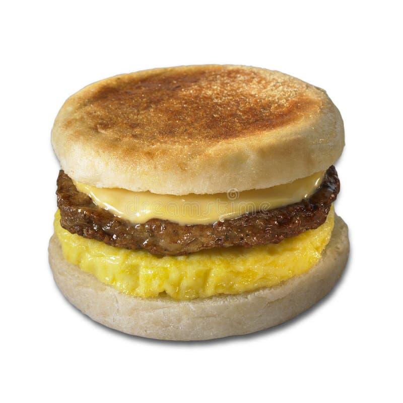сандвич завтрака стоковое фото rf