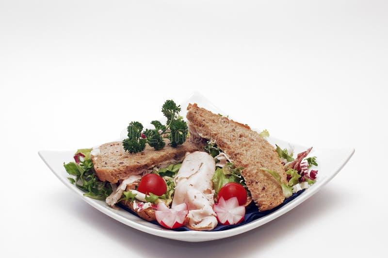 Download сандвич завтрака стоковое фото. изображение насчитывающей зерно - 495072