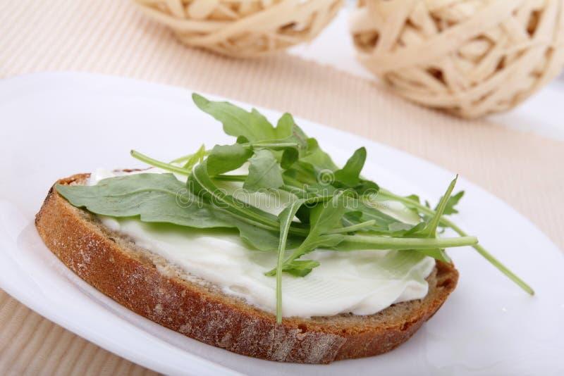сандвич коттеджа сыра стоковые фотографии rf