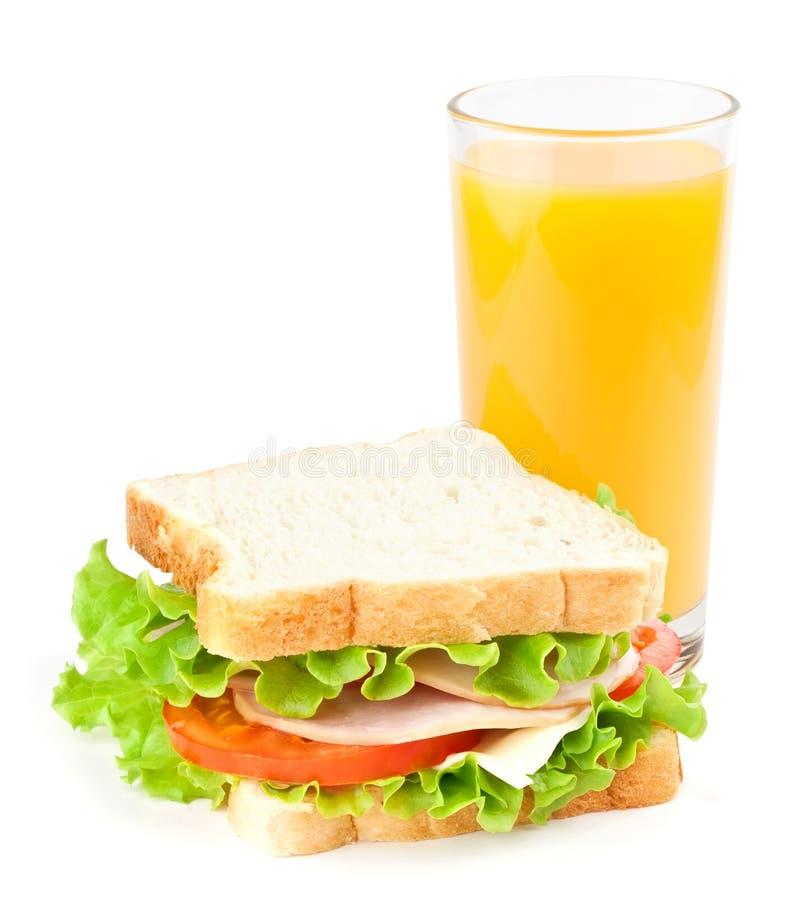 сандвич сока стоковое изображение