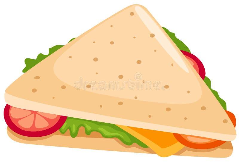 сандвич иллюстрация штока