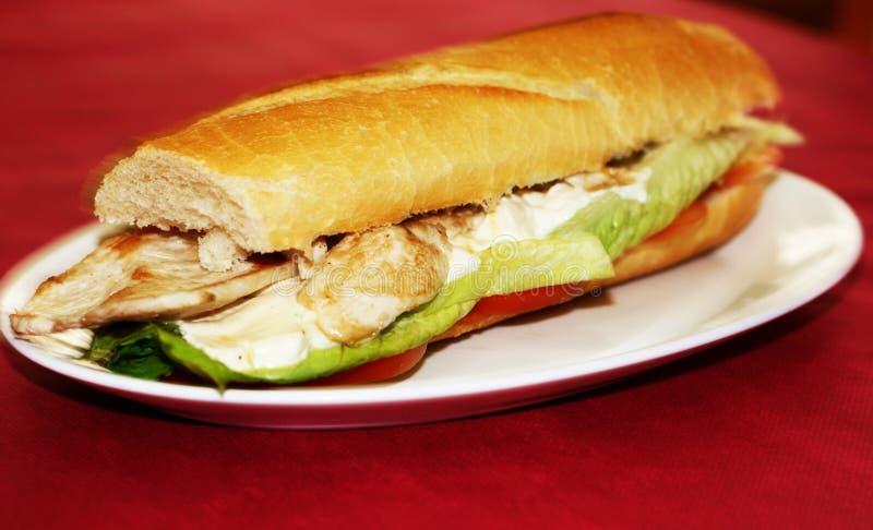 Сандвич Chiken стоковая фотография