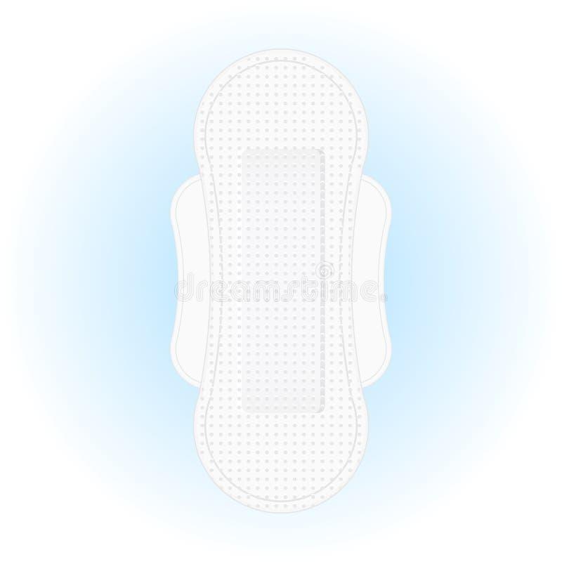 Санитарная салфетка с крылами бесплатная иллюстрация