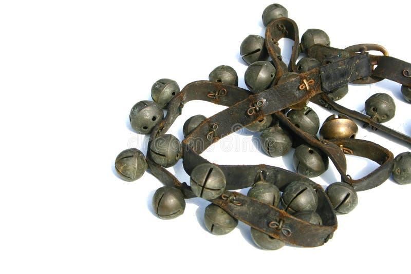 сани колоколов стоковое изображение rf